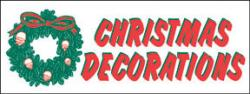 Christmas Banner Heavy Duty