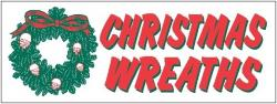 Christmas Wreaths Banner Digital