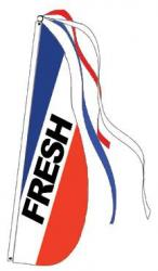 Fresh Feather Flag (Item# P13FRESH)