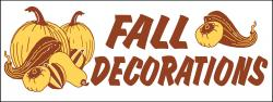 Fall Banner Heavy Duty