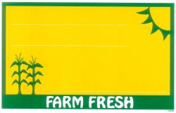 Farm Fresh Price Card (Item# P671FARMFR5)