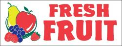Fresh Fruit Banner Digital