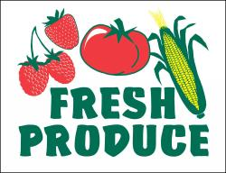 Fresh Produce Poly Marketeer
