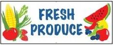 Fresh Produce Banner Digital