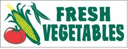 Fresh Vegetable Banner Digital
