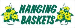 Hanging Baskets Banner Digital