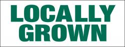 Locally Grown Banner Heavy Duty