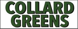 Collard Greens Banner Heavy Duty
