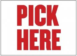 Pick Here Poly Marketeer