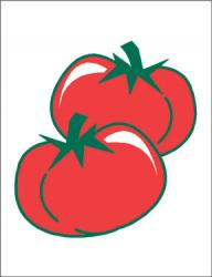 Tomatoes Road Sign