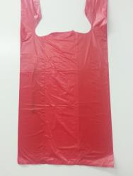 Red T-Shirt Bag (Item# P610BAGR)