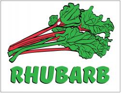 Rhubarb Poly Marketeer