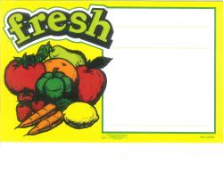 Fresh Price Card (Item# P671FR7)