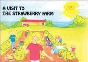 Visit to the Strawberry Farm Coloring Book (Item# P646STR)