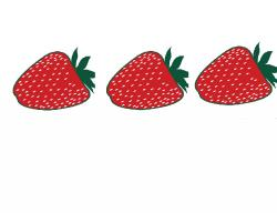 Strawberry on a roll kit